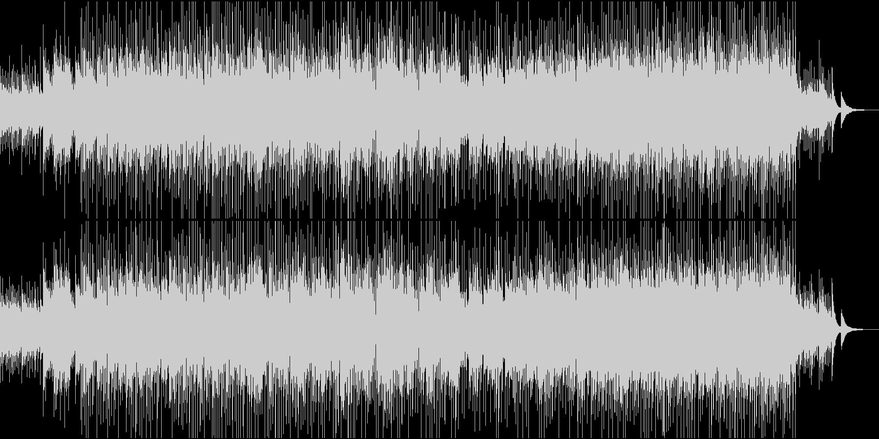 メロディが控えめCMナレーション向けの未再生の波形
