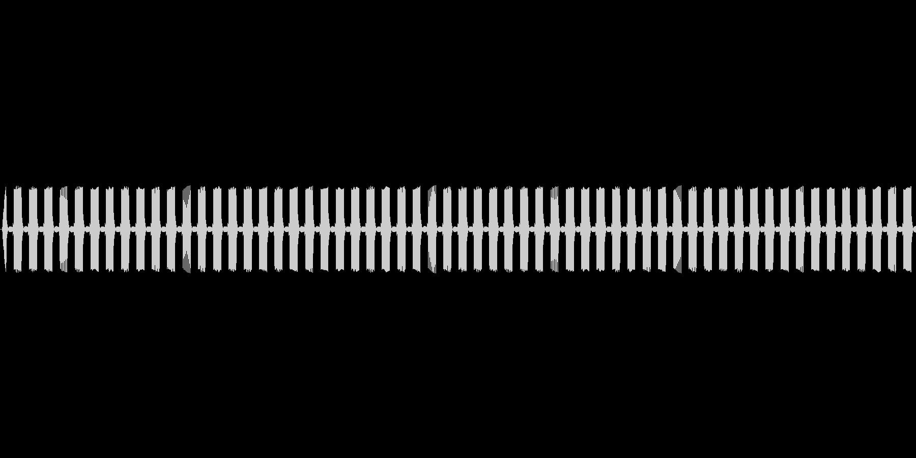 【ループ】レトロゲームぽいステージ開始音の未再生の波形