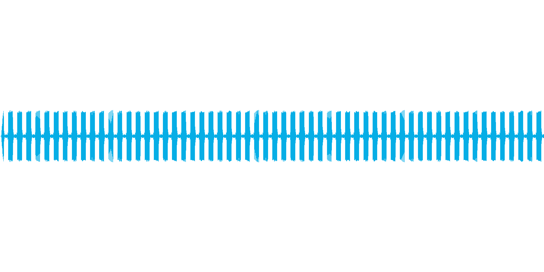 【ループ】レトロゲームぽいステージ開始音の再生済みの波形