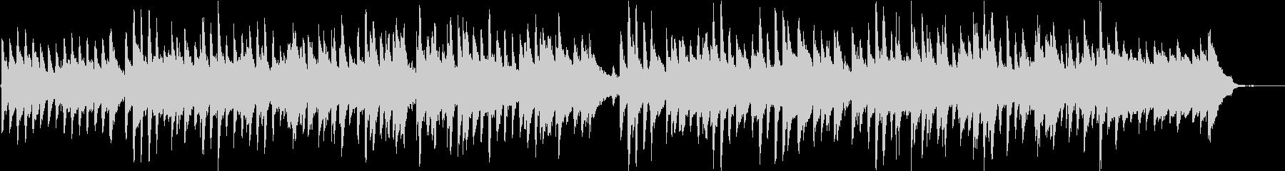 明るくほがらかなピアノポップス/ドラム無の未再生の波形