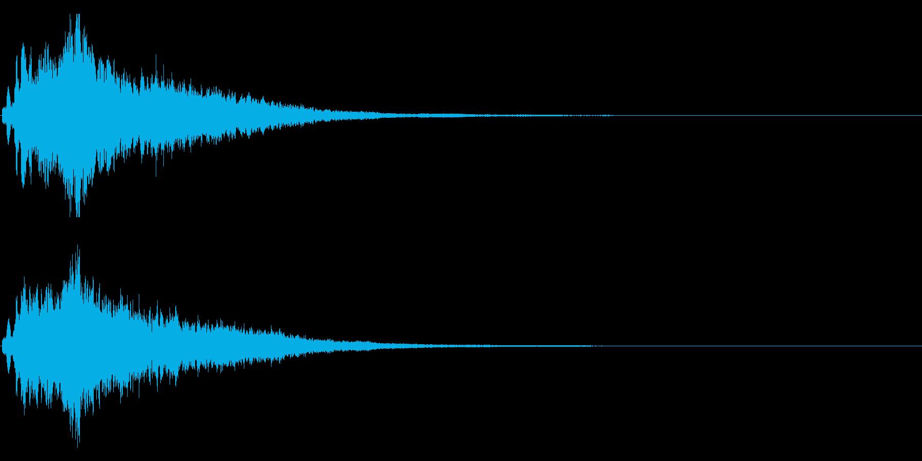 キラキラ♪クリア,達成,回復等に最適24の再生済みの波形