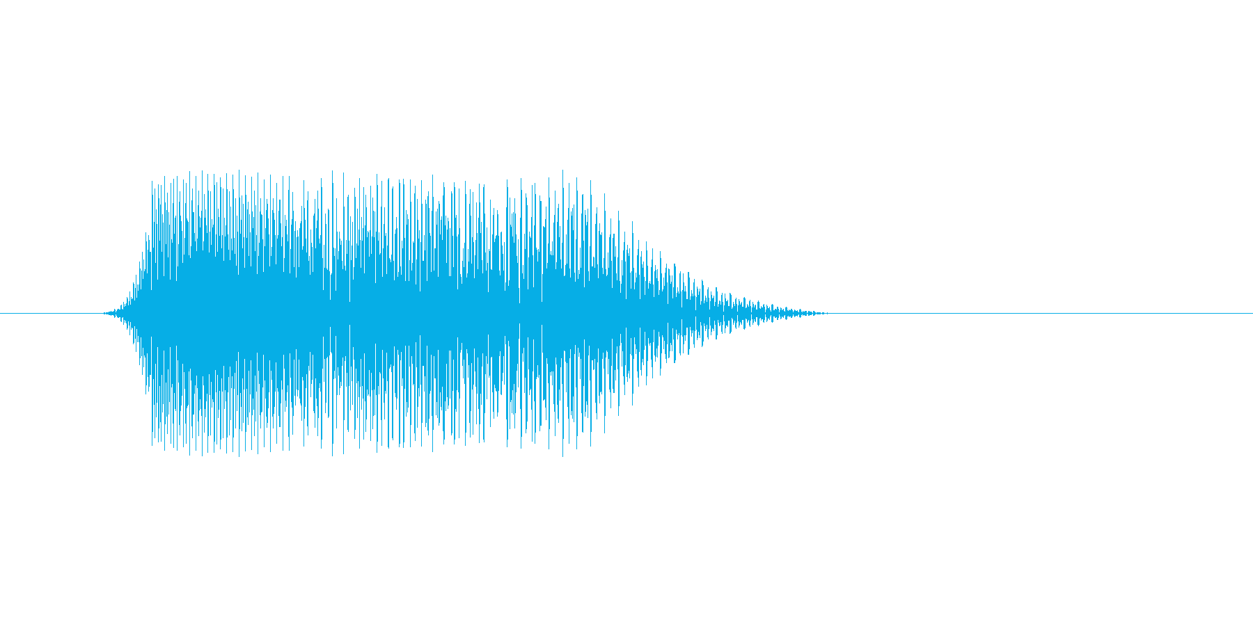ファミコン風効果音 キャンセル系 12の再生済みの波形