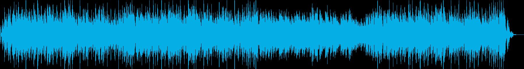 キャッチーなメロのハウス調ポップジングルの再生済みの波形