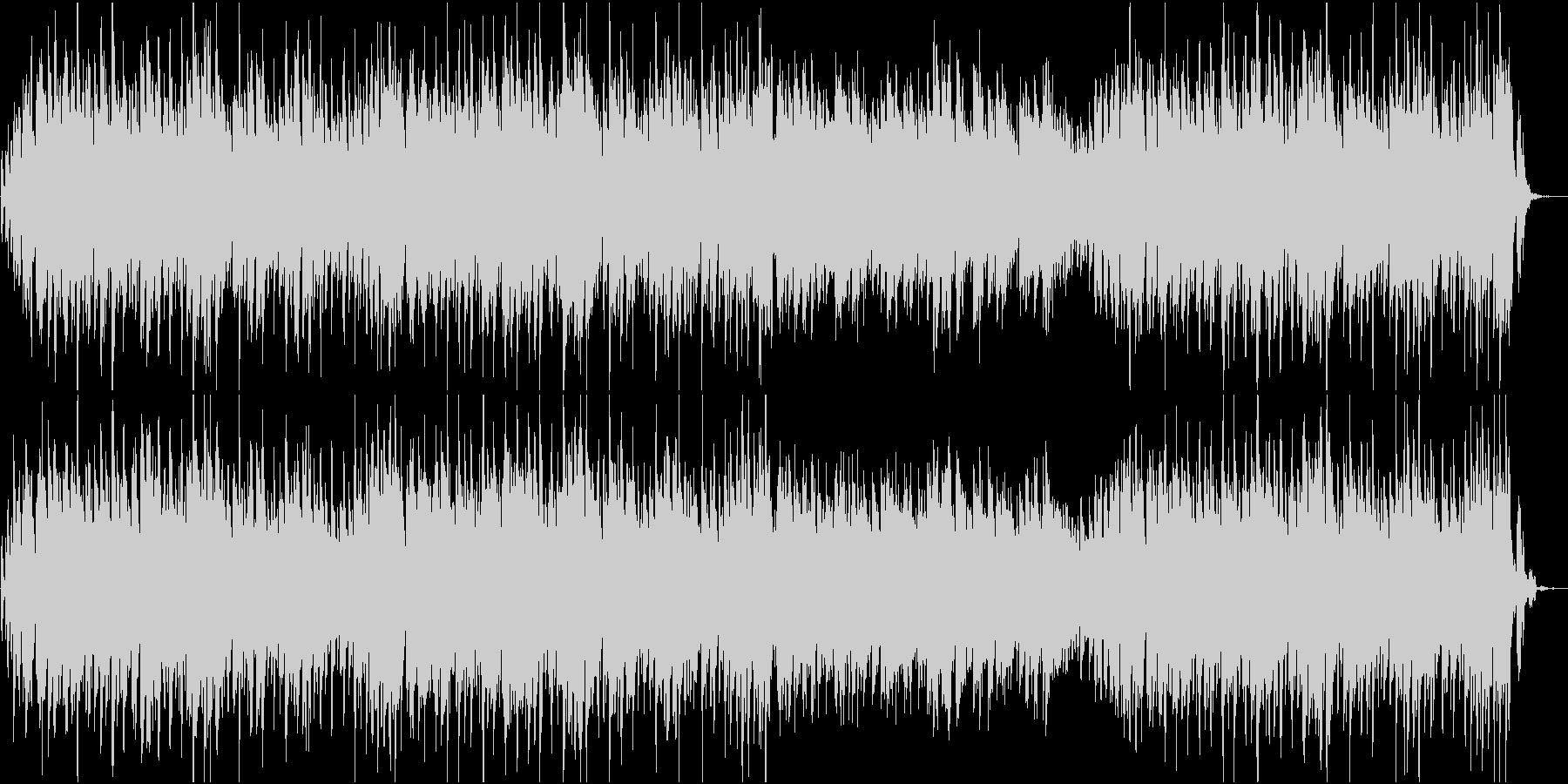 キャッチーなメロのハウス調ポップジングルの未再生の波形