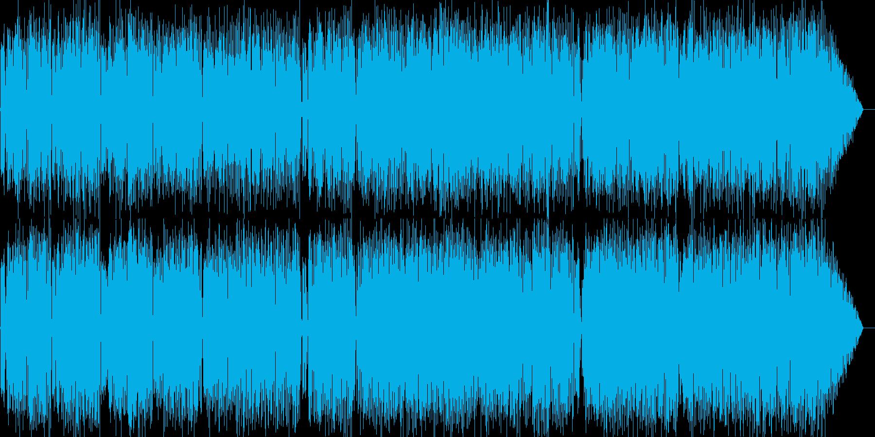 哀愁のラテン系アコギバラードの再生済みの波形