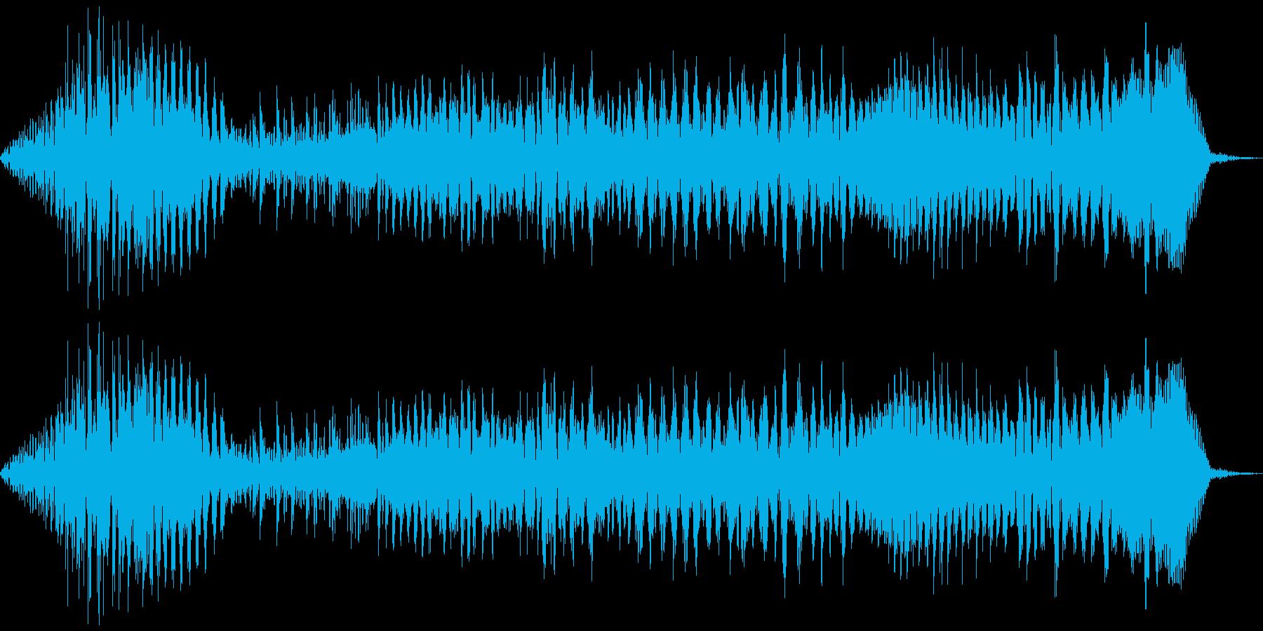うおぉおおお!の再生済みの波形