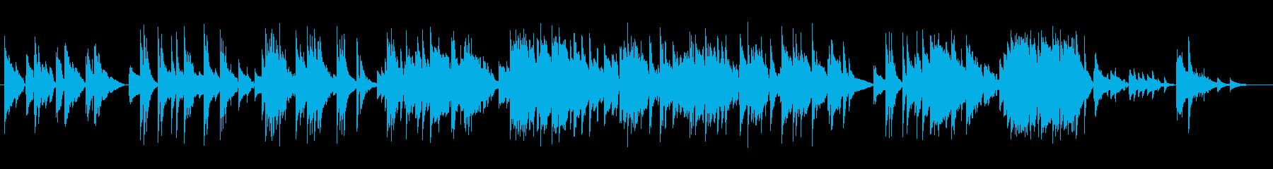 心に染み入る切ないバラードの再生済みの波形
