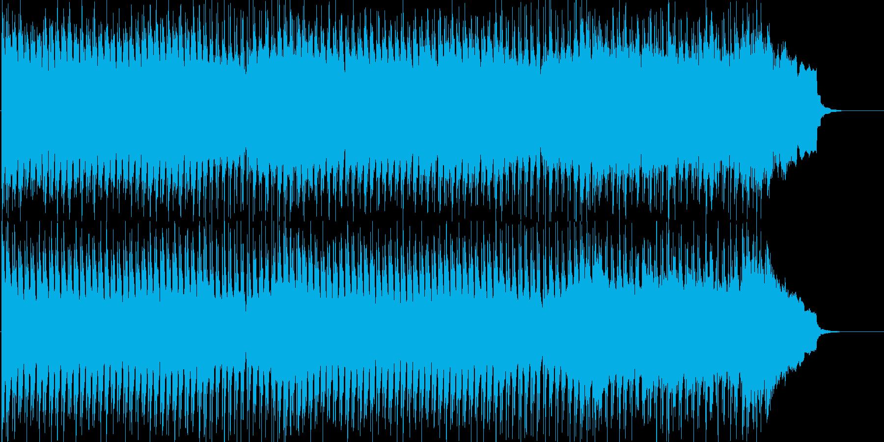パワフルでワイルドな男らしい情熱ロックの再生済みの波形