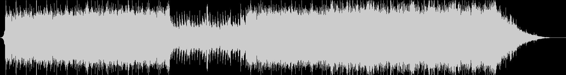 【オーケストラ】疾走感、壮大なBGMの未再生の波形