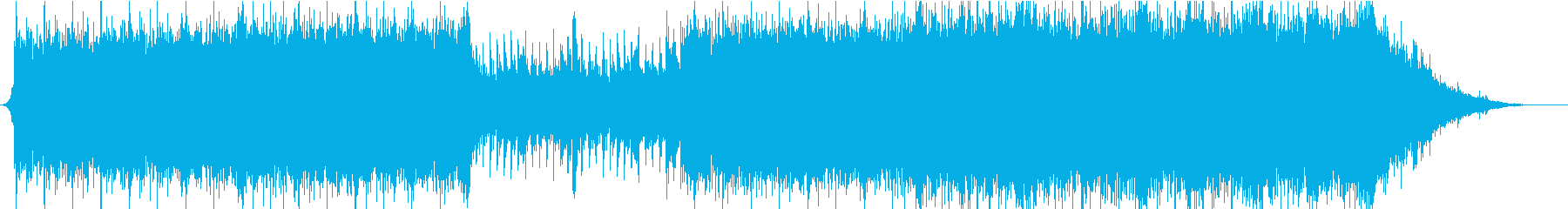 【オーケストラ】疾走感、壮大なBGMの再生済みの波形