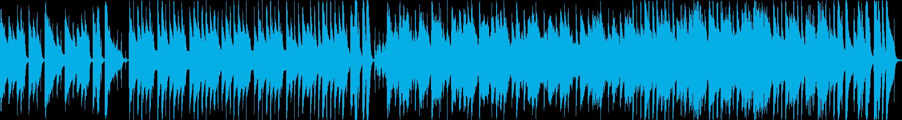 【ループ】可愛いほのぼの系ボサノバの再生済みの波形