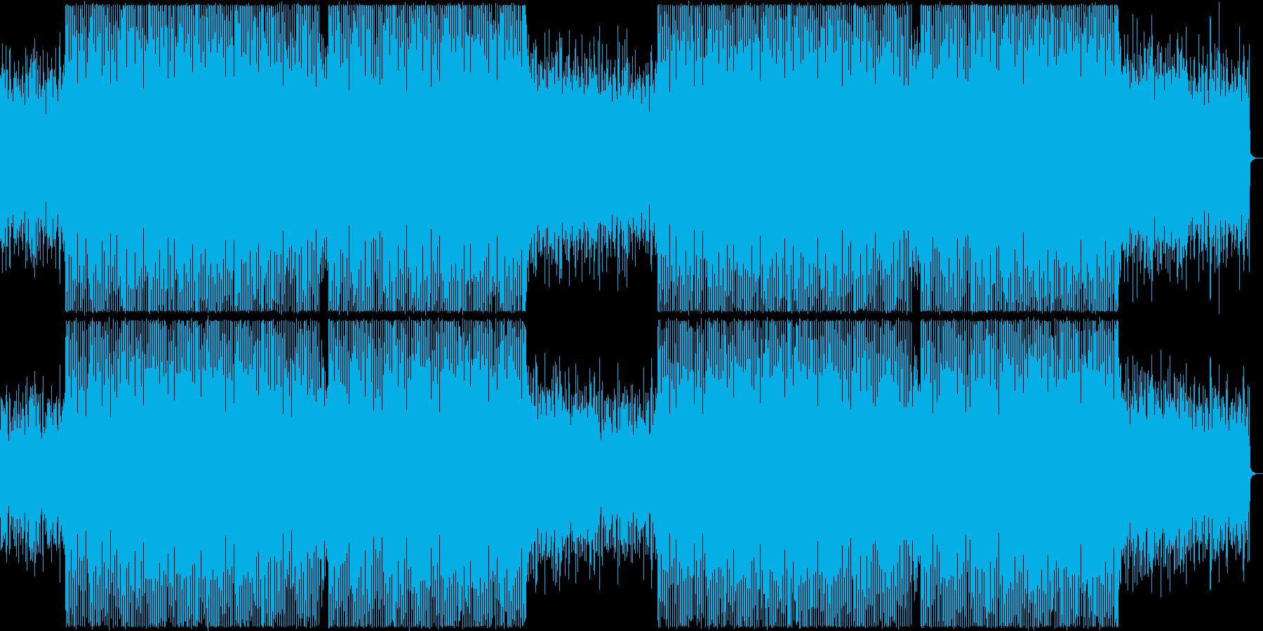 ヴァイオリン&ギターの黄昏ハウスBGMの再生済みの波形