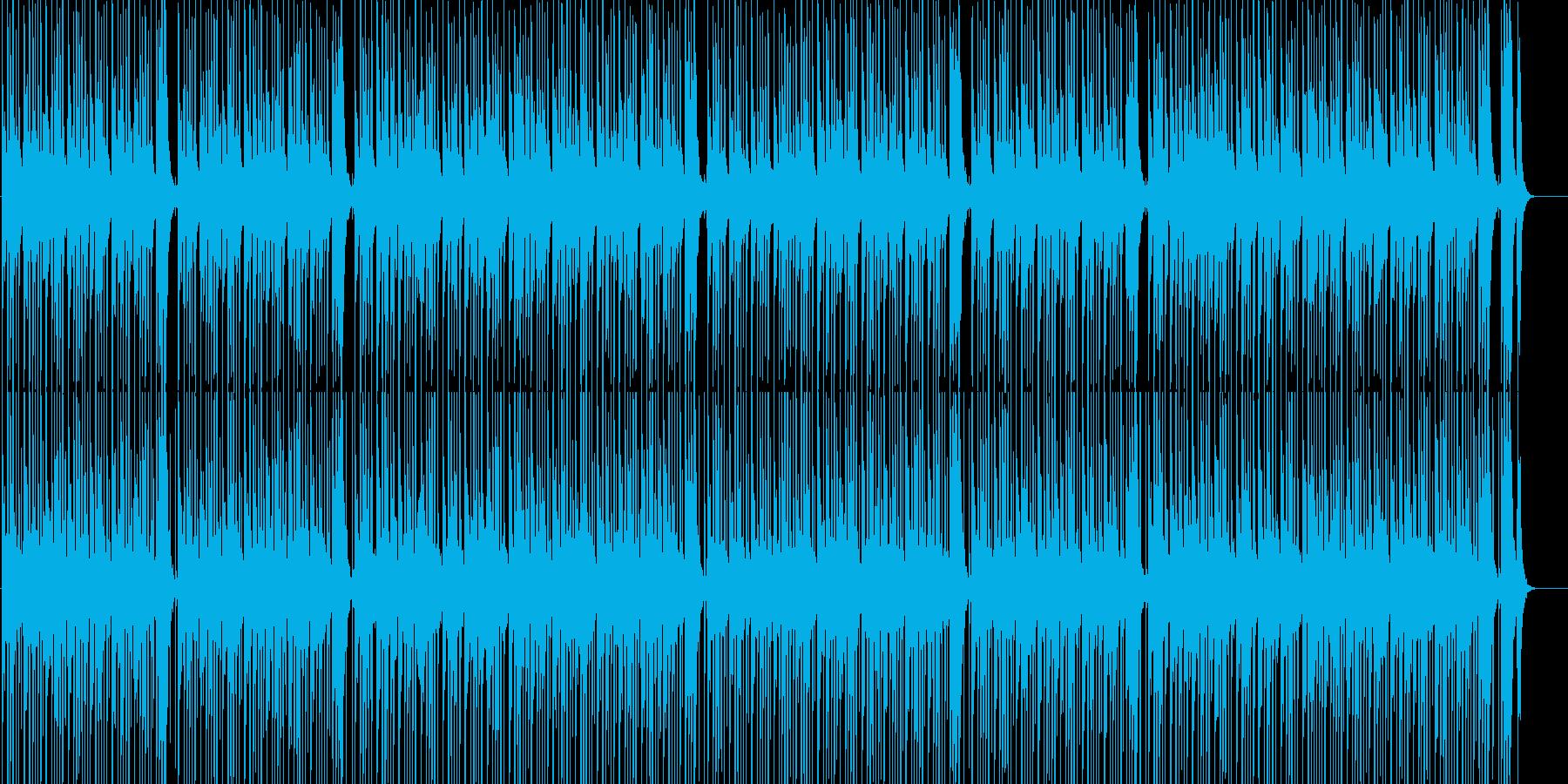 楽しい コミカル ほのぼの ペット 子供の再生済みの波形