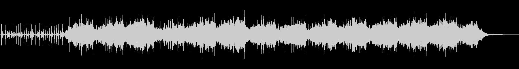 幻想的なシンセサウンドの未再生の波形