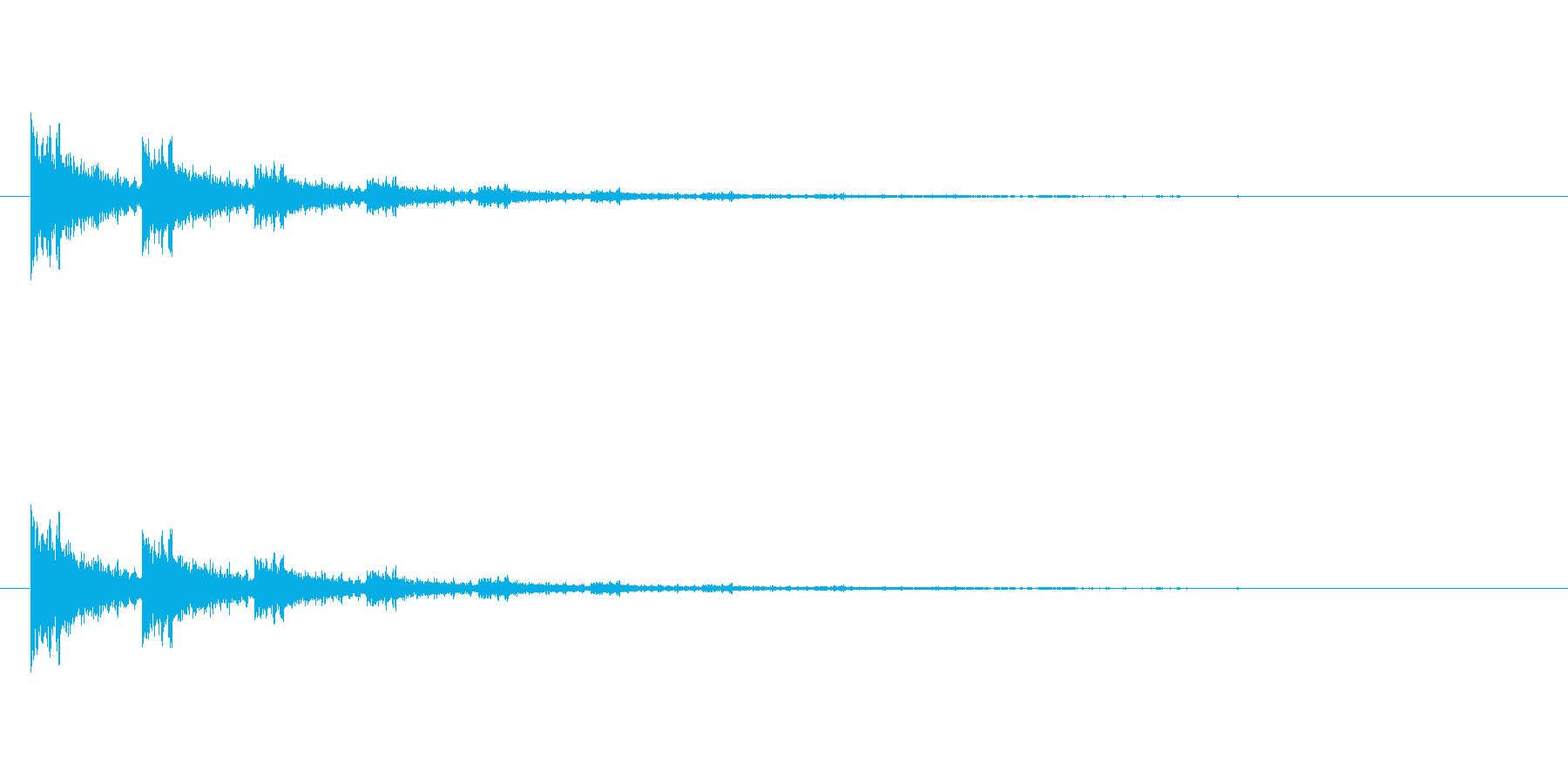 【アクセント20-4】の再生済みの波形