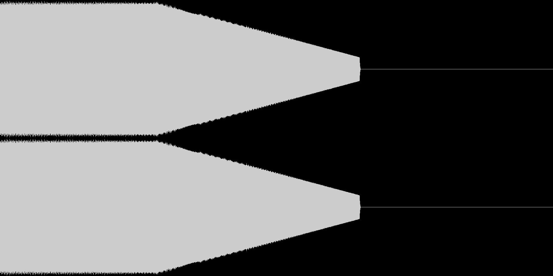決定音・選択音・入手音【1】の未再生の波形