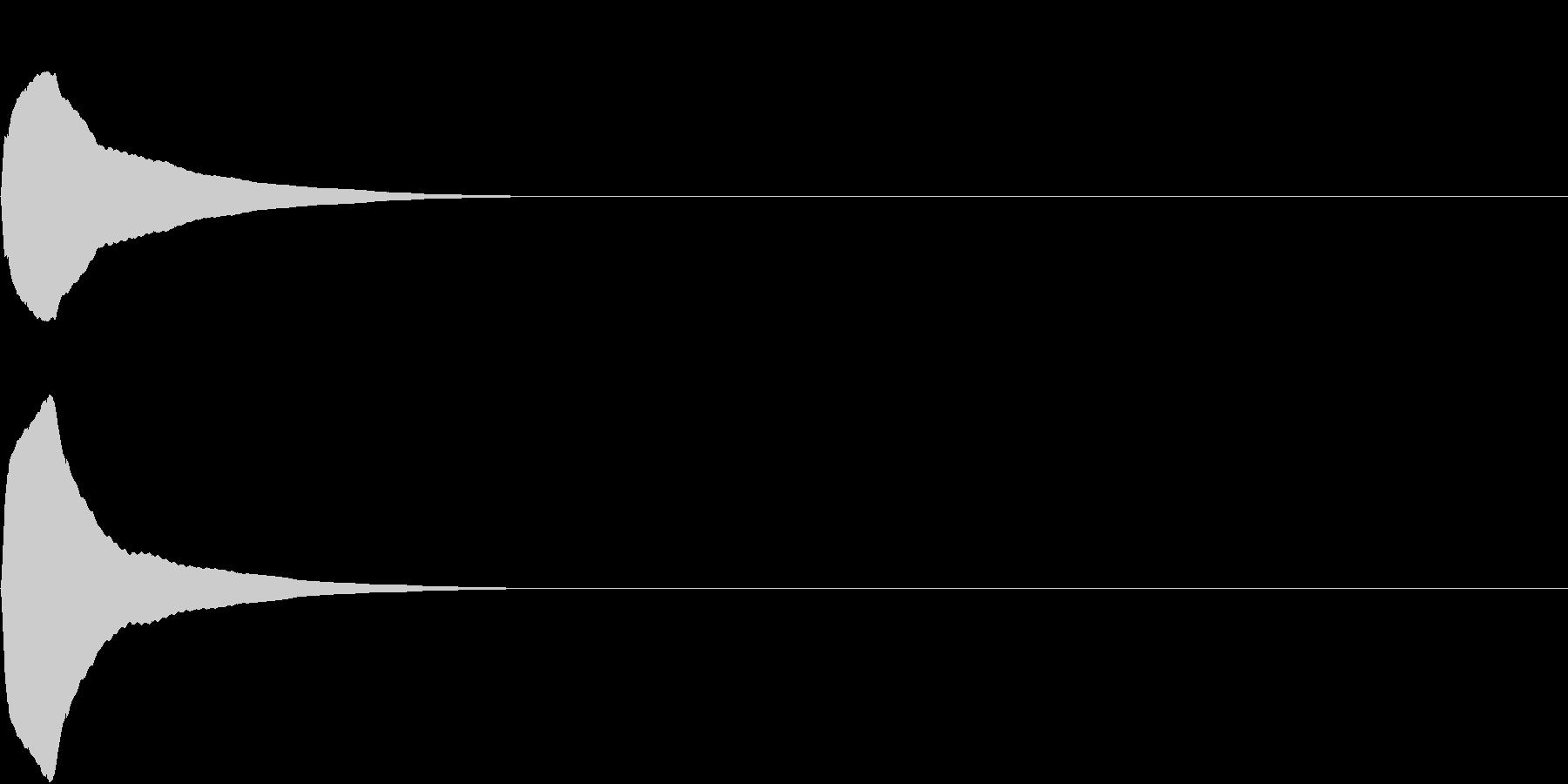 PureTouch アプリ用タッチ音34の未再生の波形