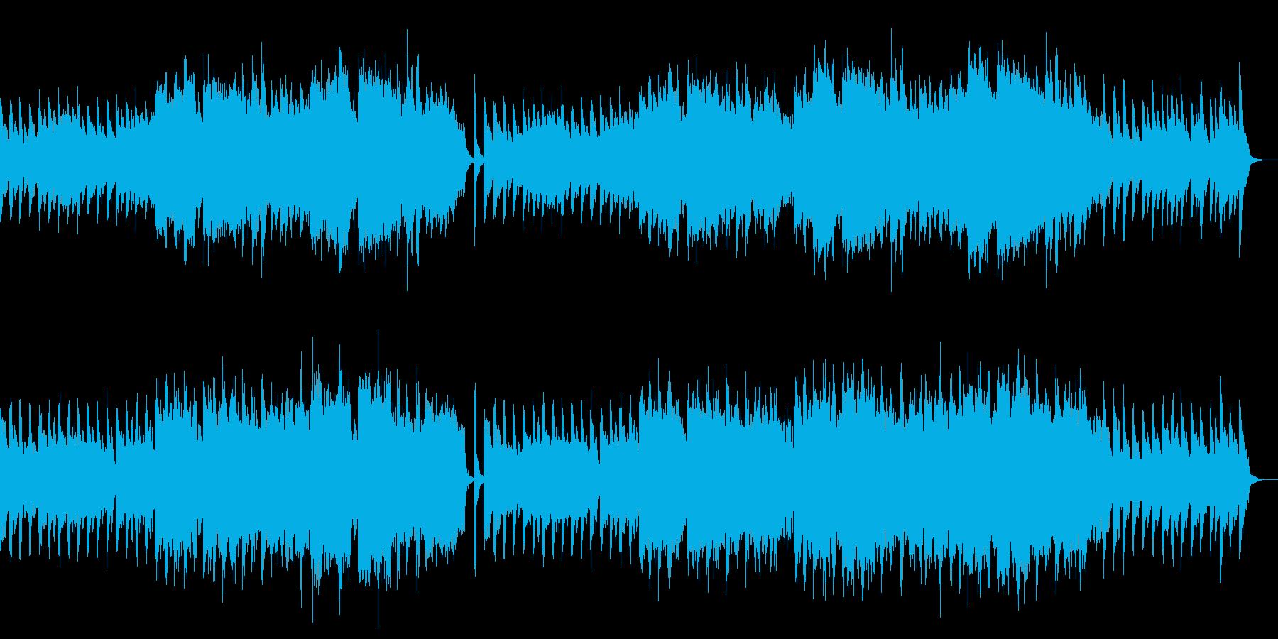 夏の風をイメージしたピアノバラードですの再生済みの波形