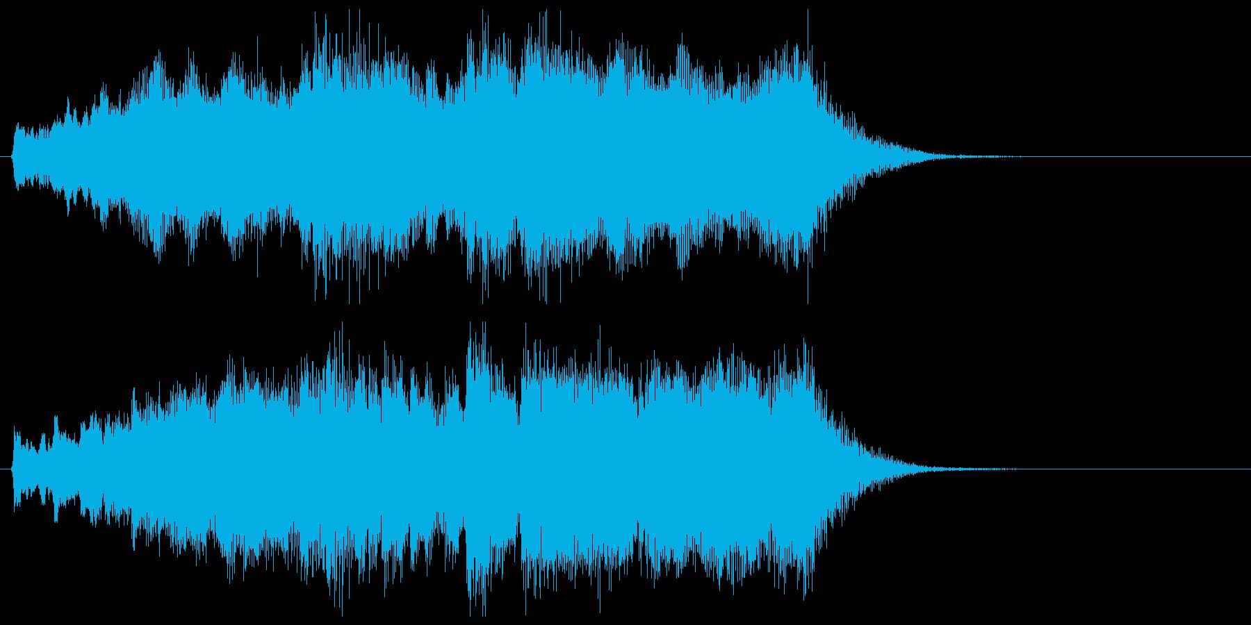 発表!特別賞!金管ファンファーレの再生済みの波形