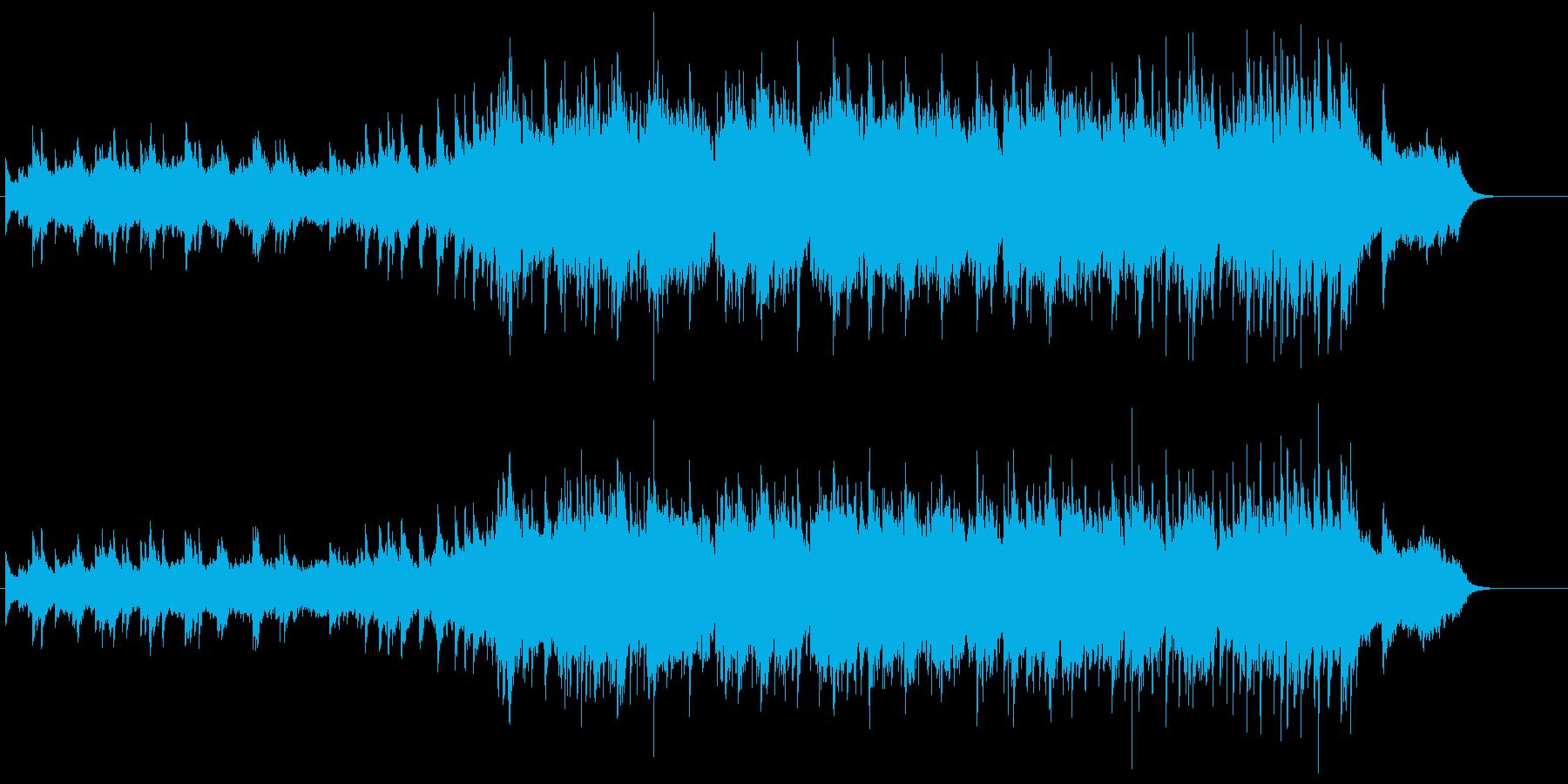 均整のとれたニューエイジ風バラードの再生済みの波形