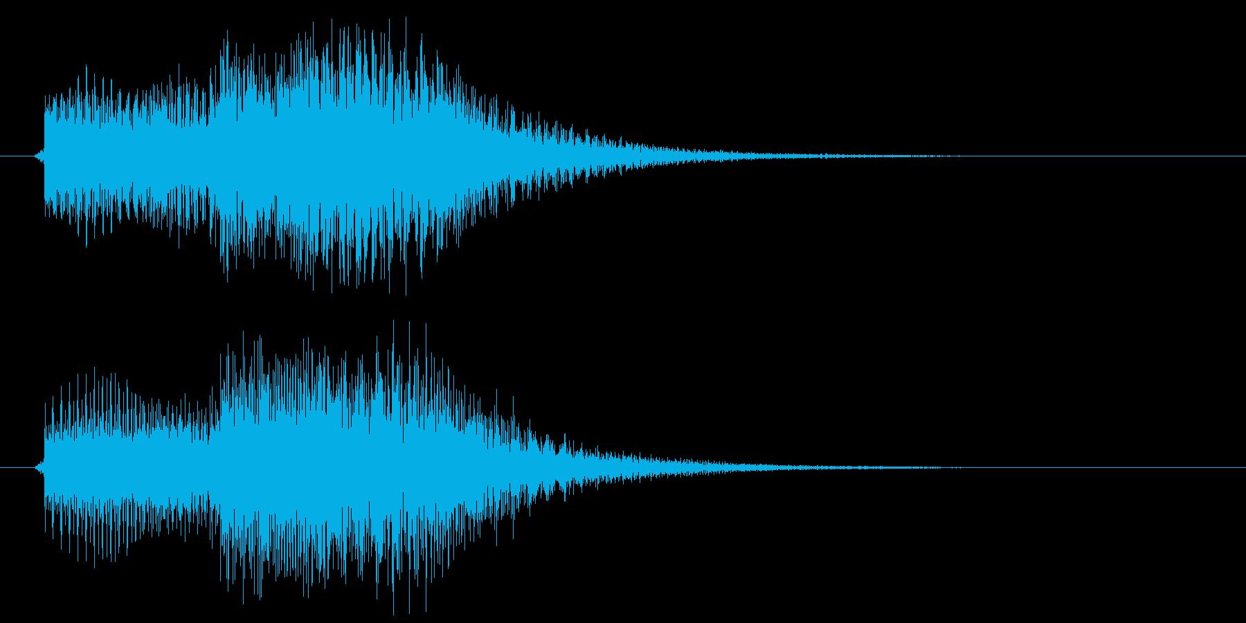 ティトンの再生済みの波形