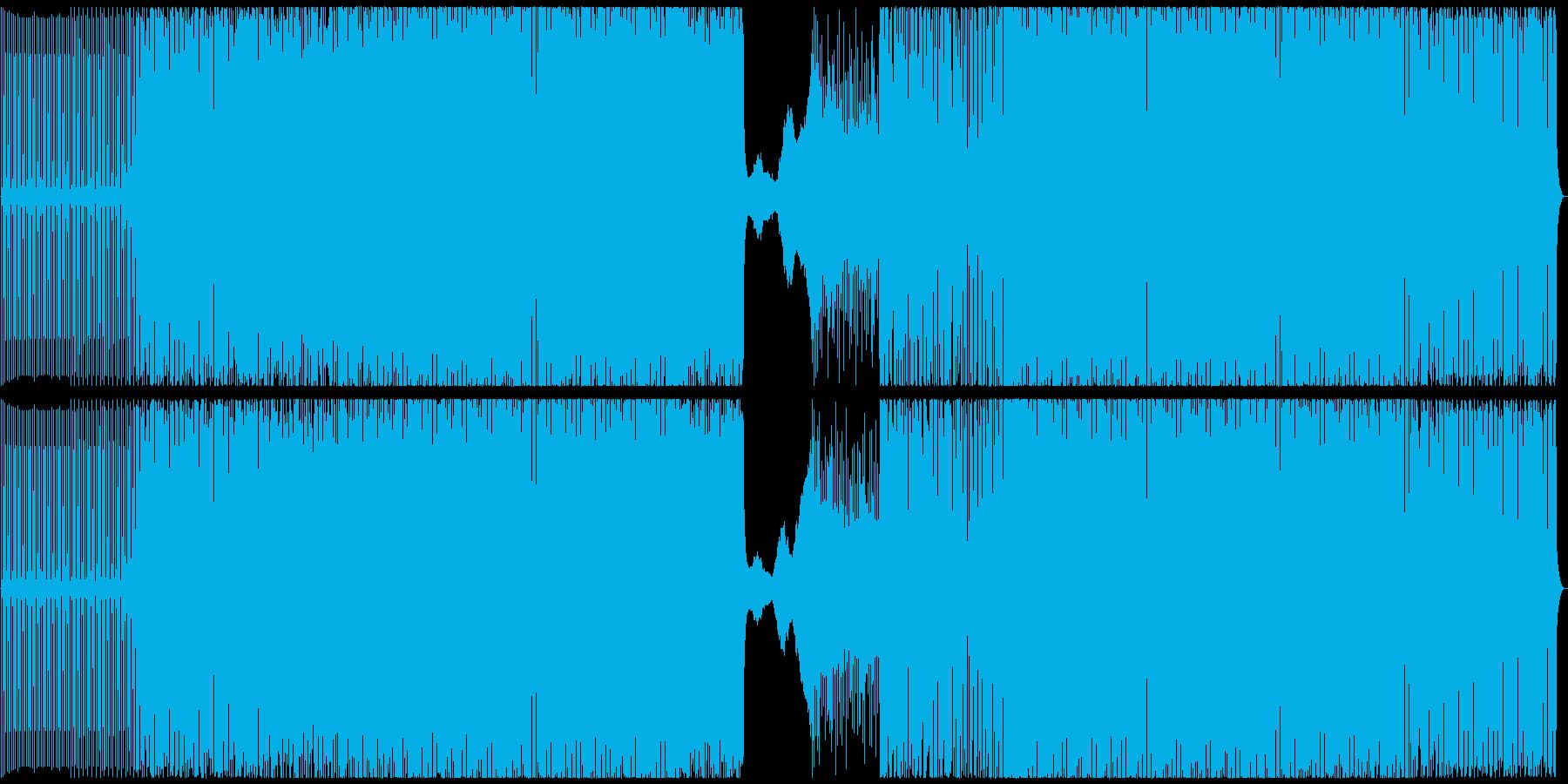 クラブ/テックハウスの再生済みの波形