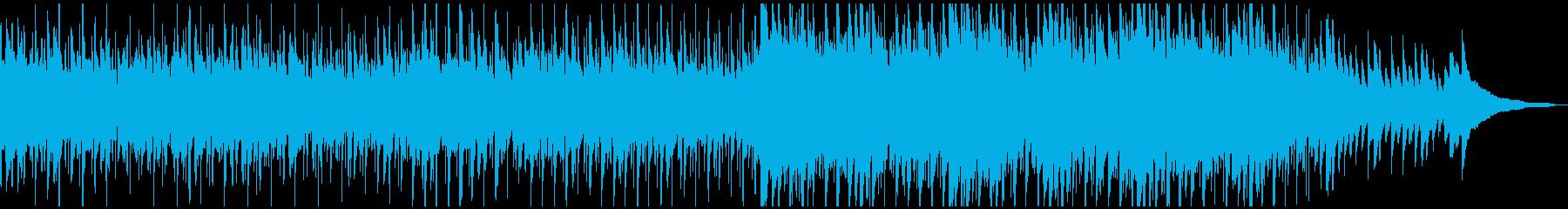 もの哀しく切ないバラード調ポップスの再生済みの波形