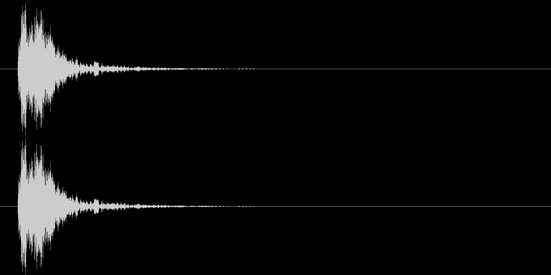 カン(金属、FX)の未再生の波形