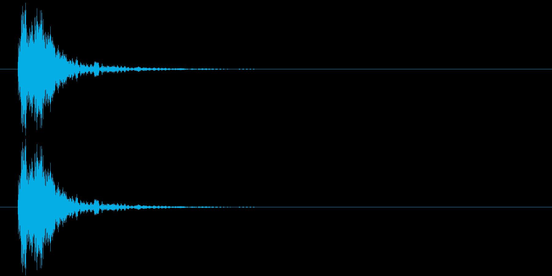 カン(金属、FX)の再生済みの波形