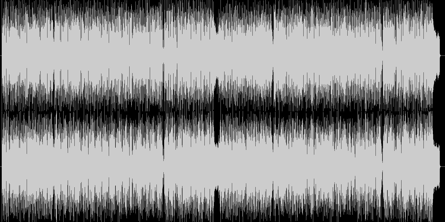 おしゃれなリラックス系ボサノバの未再生の波形