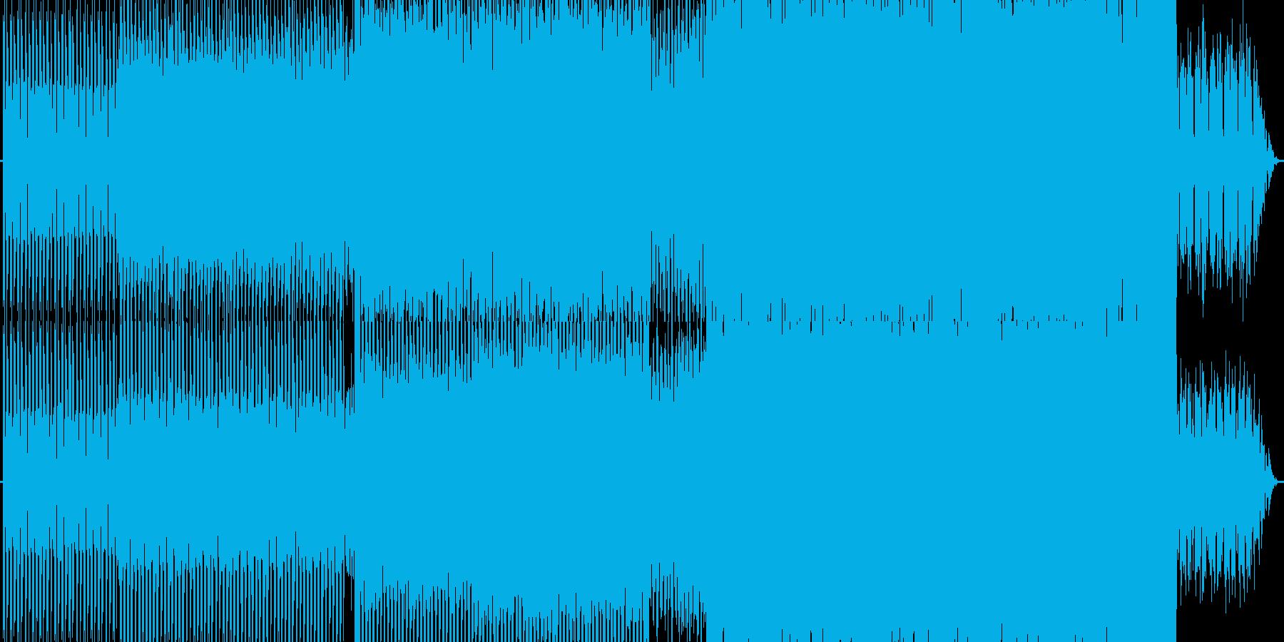 単調・テクノの再生済みの波形