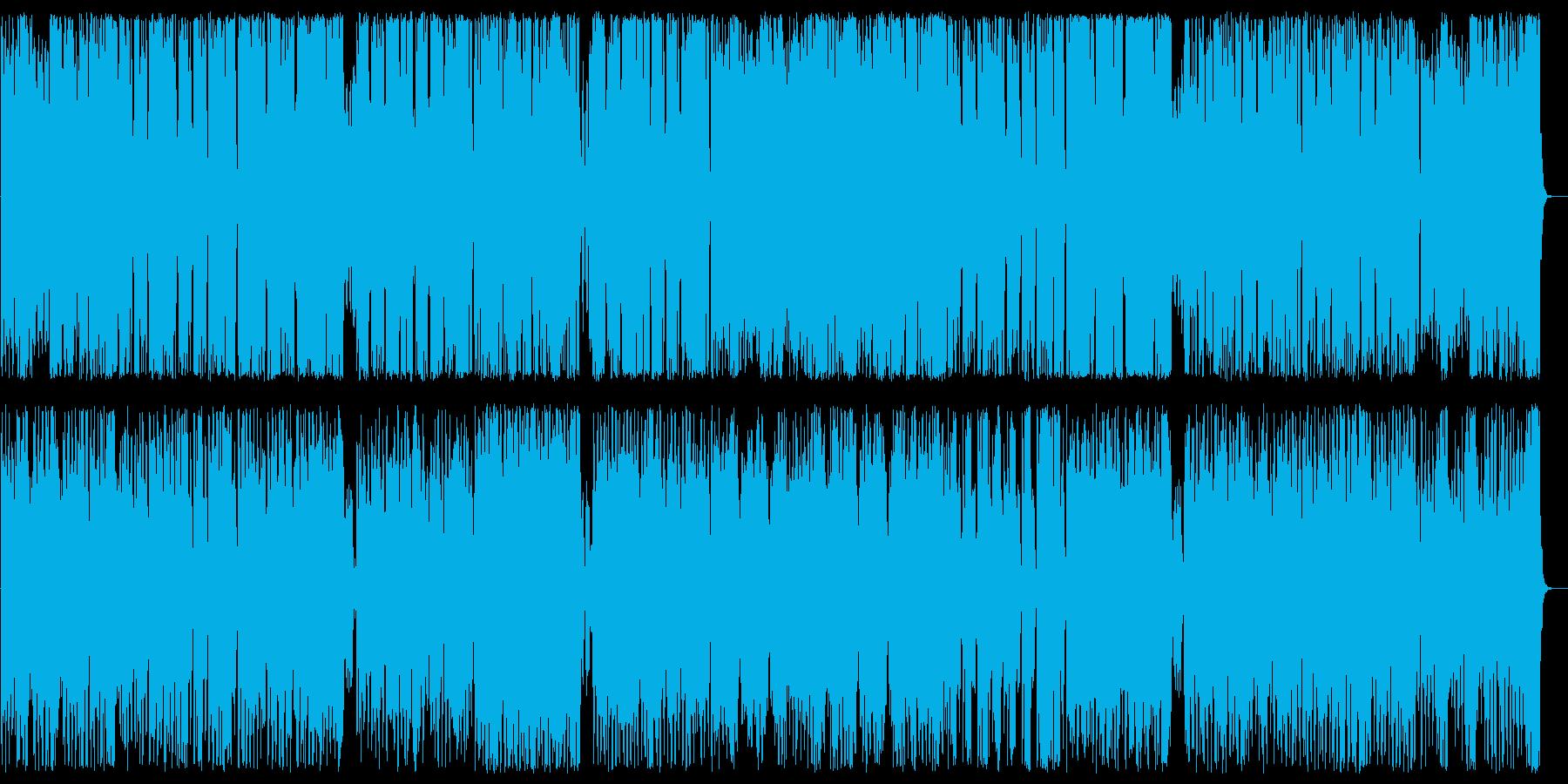 華麗でキャッチ―なパレード風ポップスの再生済みの波形