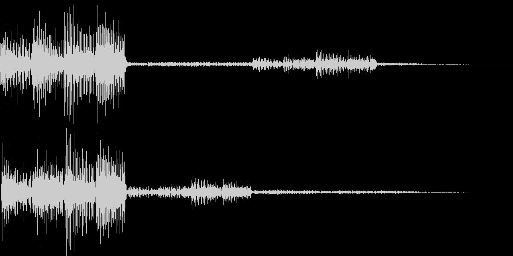 テロロロン(ミス、キャンセル、アイテム)の未再生の波形