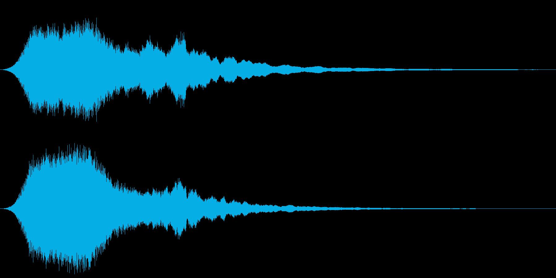 ドゥワーン ゲームアプリ・サウンドロゴにの再生済みの波形