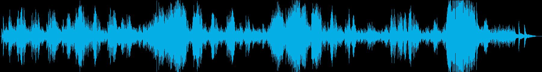 ショパン ノクターン第2番 ピアノ演奏の再生済みの波形