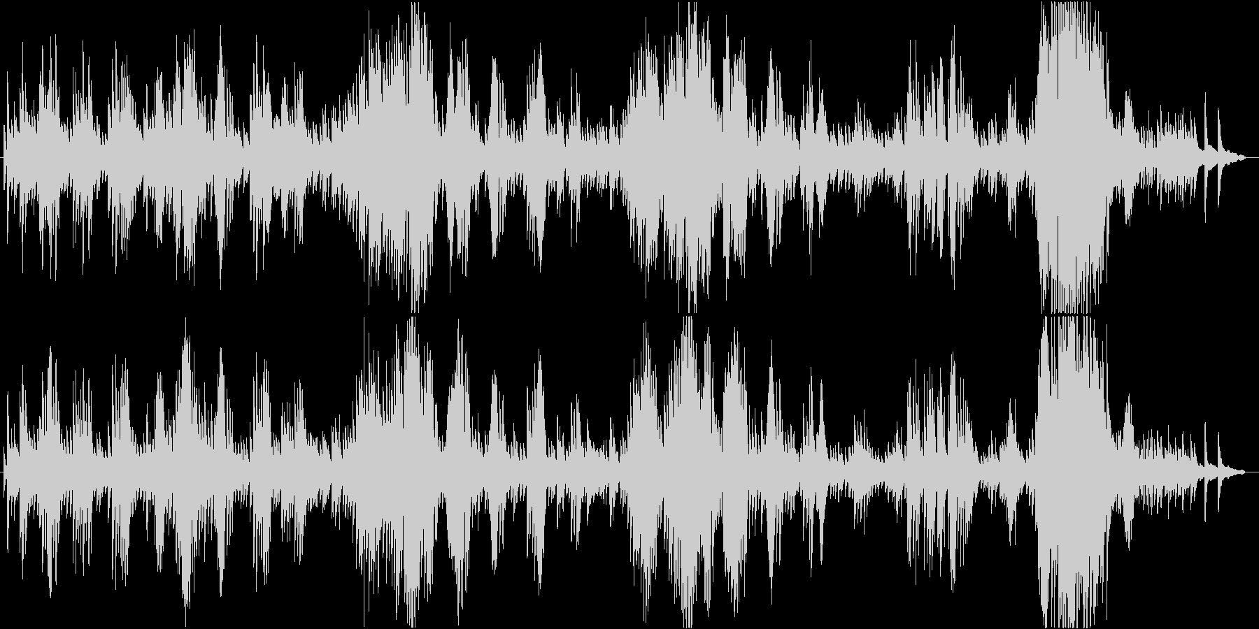 ショパン ノクターン第2番 ピアノ演奏の未再生の波形