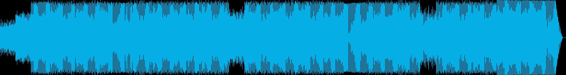 ゴリゴリテクノの再生済みの波形