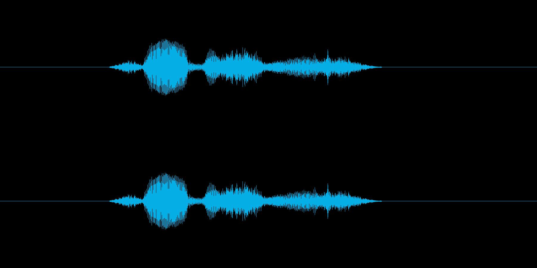 【システム】セーブします - 1の再生済みの波形
