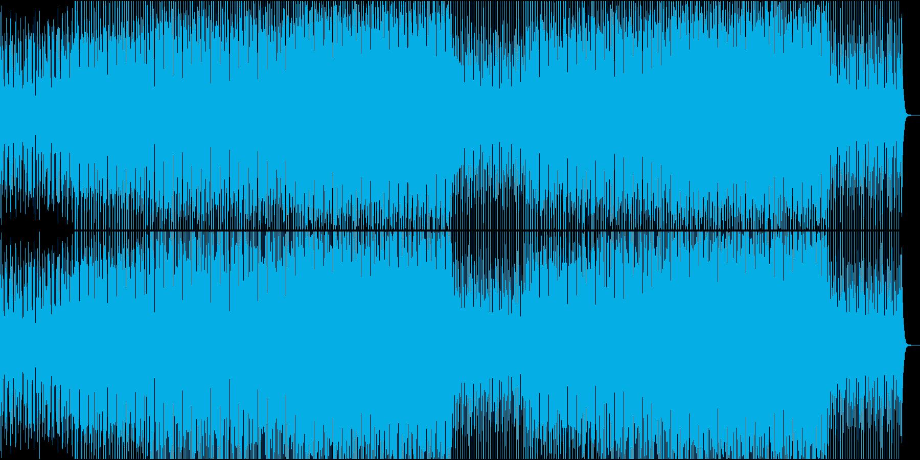 EDMポップで明るいクラブ系-55の再生済みの波形