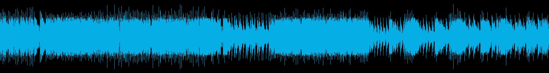 和太鼓/ループ/力強い太鼓の再生済みの波形