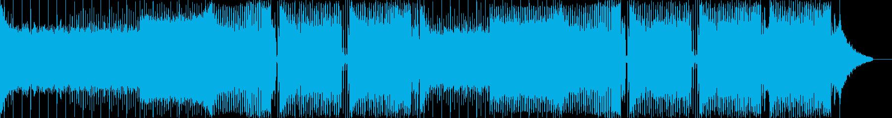EDM定番の売れ線ハウス系&派手でクールの再生済みの波形