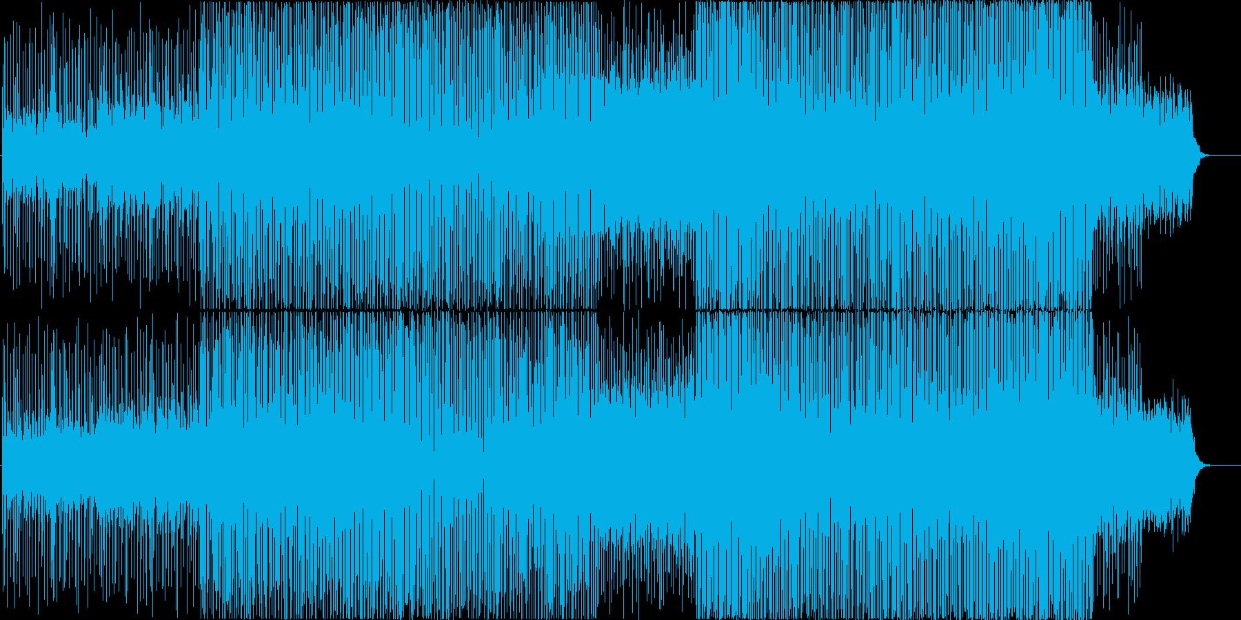近未来的でメルヘンなファンタジックBGMの再生済みの波形