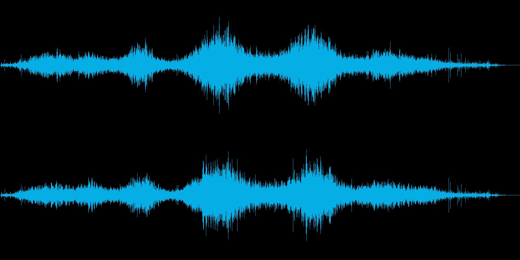 氷結を彷彿とさせる透明で神秘的な音風景の再生済みの波形