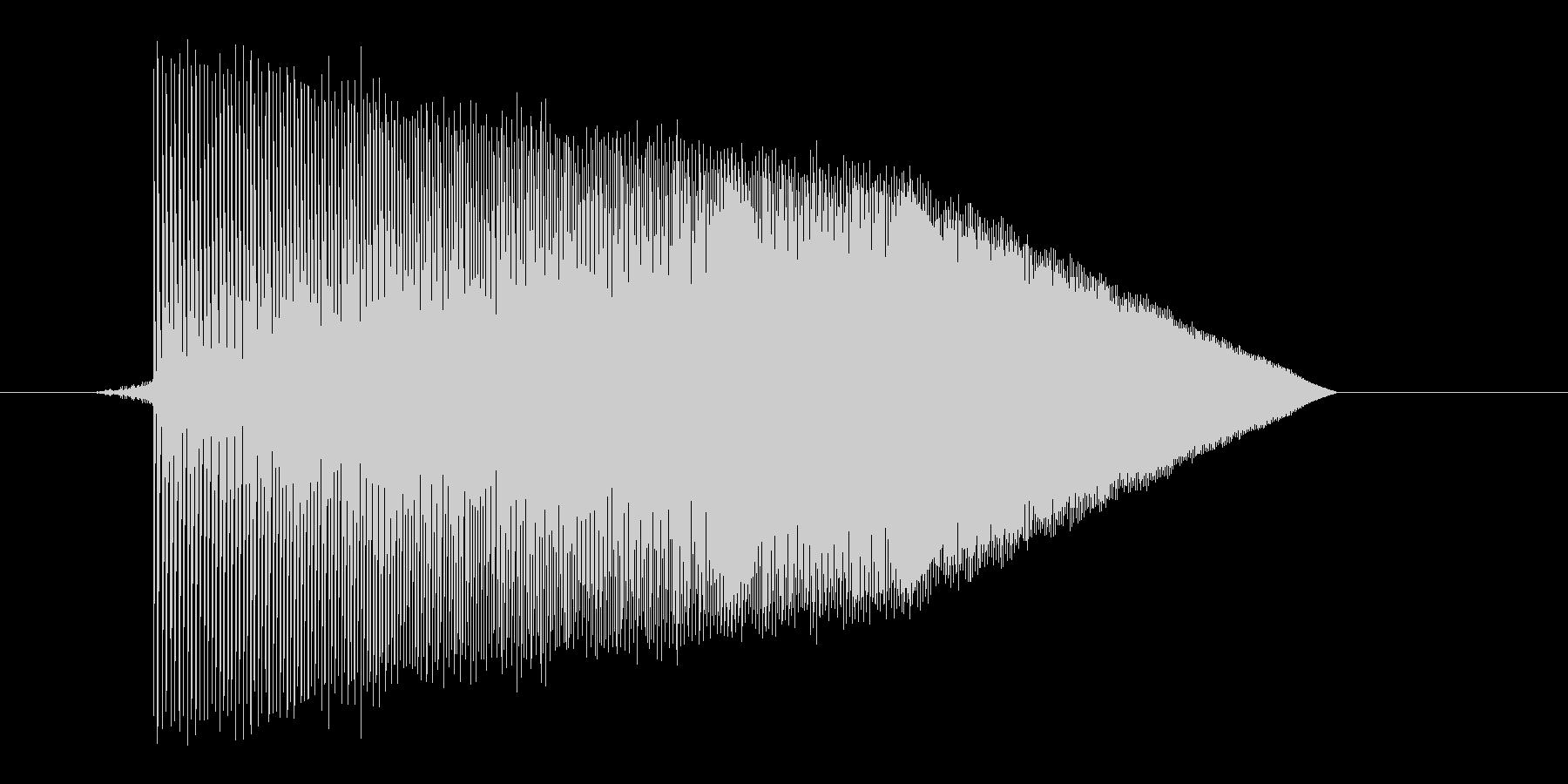 ゲーム(ファミコン風)ジャンプ音_002の未再生の波形