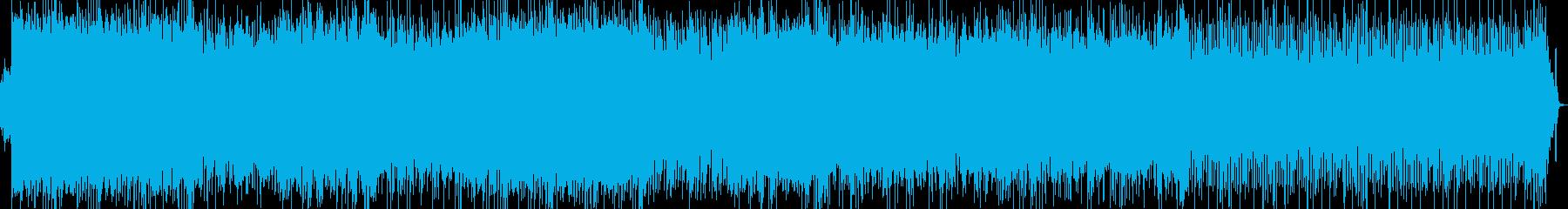 テクノポップ系の再生済みの波形