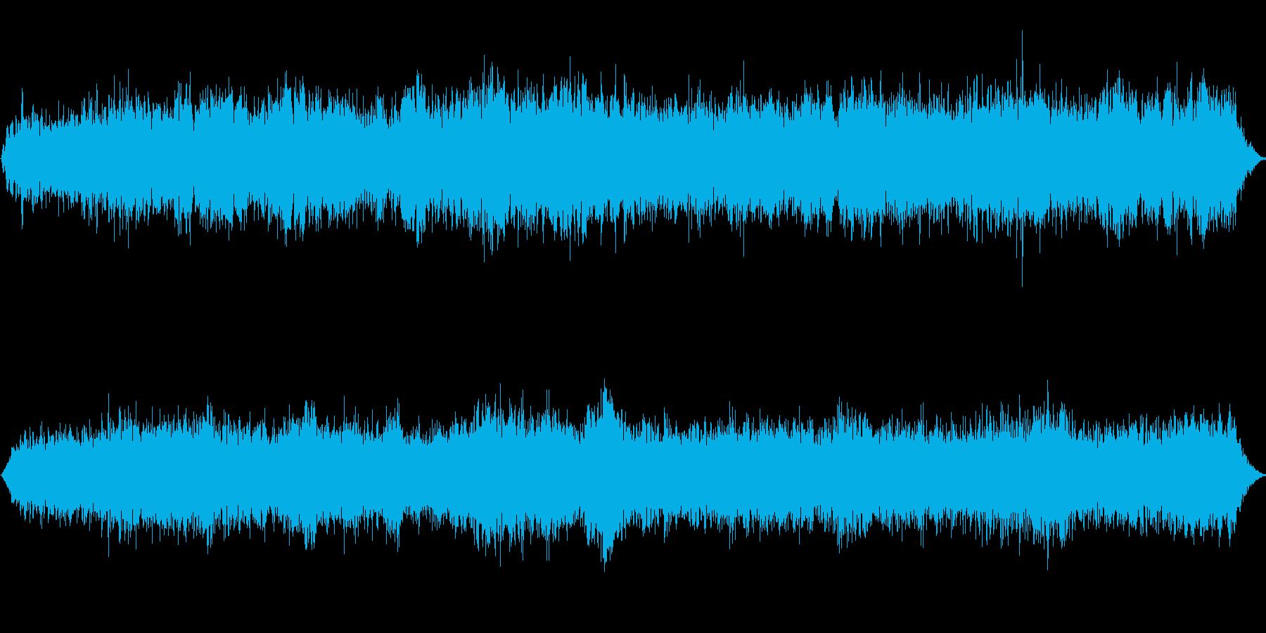 宇宙をイメージして作成しました。の再生済みの波形
