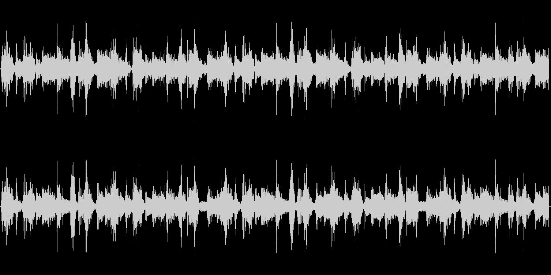 シンプルで合わせやすいループBGMの未再生の波形