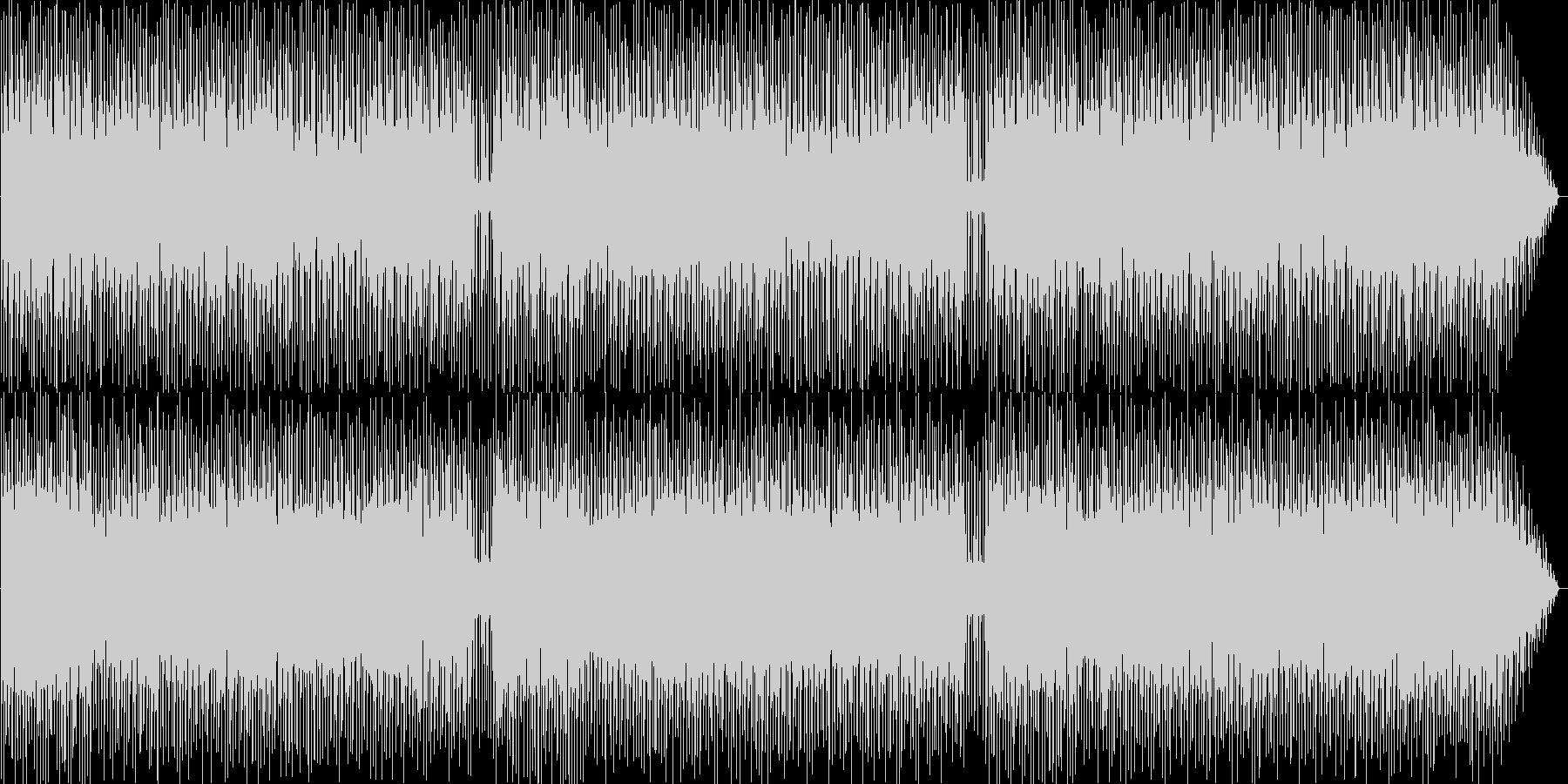 パンフルートがメインのハネている曲の未再生の波形
