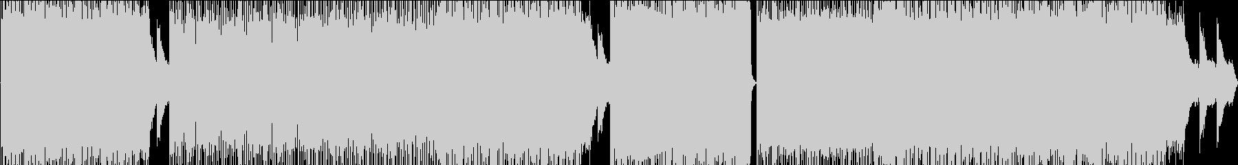 ピアノが爽やかなドラムンベースですの未再生の波形