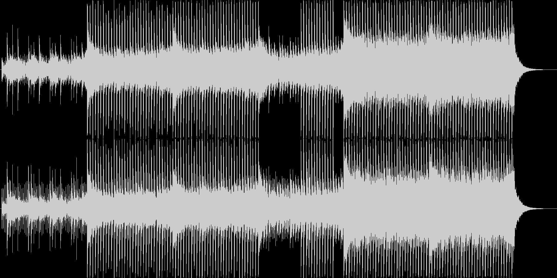 OP、ED、ハッピーの中に憂を秘めた曲の未再生の波形
